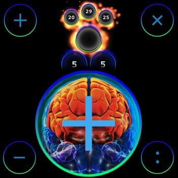 Practice mental arithmetic Logo