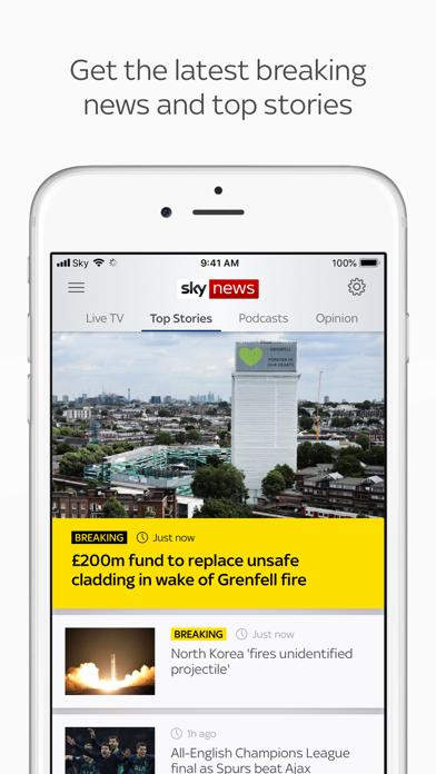 Sky News: Breaking, UK & World - Revenue & Download estimates