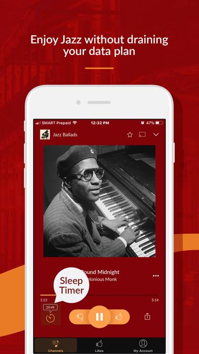 Jazz Radio review screenshots