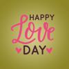 Happy Love Stickers