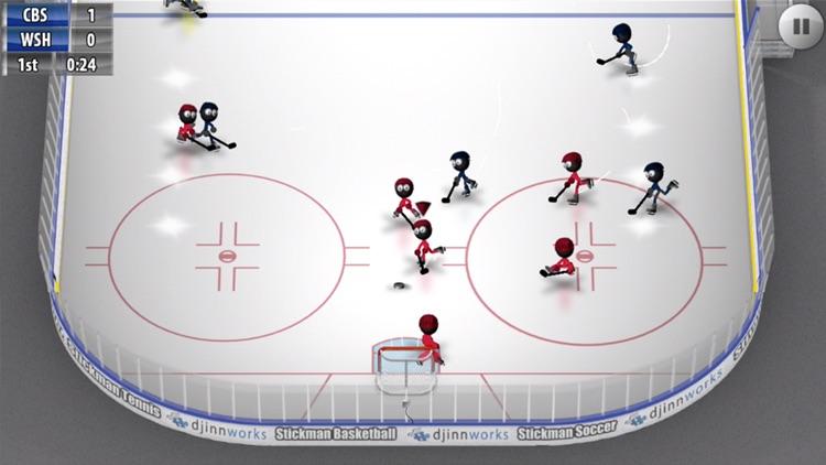 Stickman Ice Hockey screenshot-3