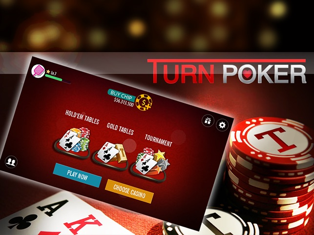 Turn Poker On The App Store