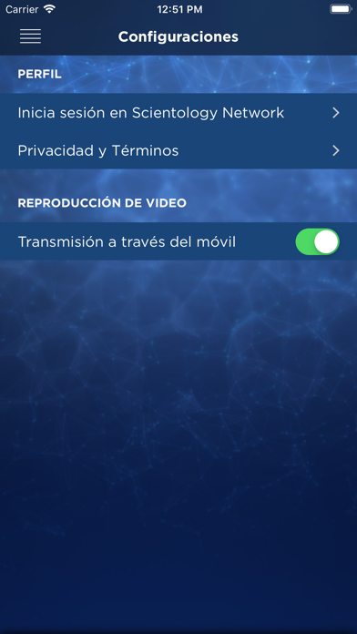 Scientology NetworkCaptura de pantalla de8