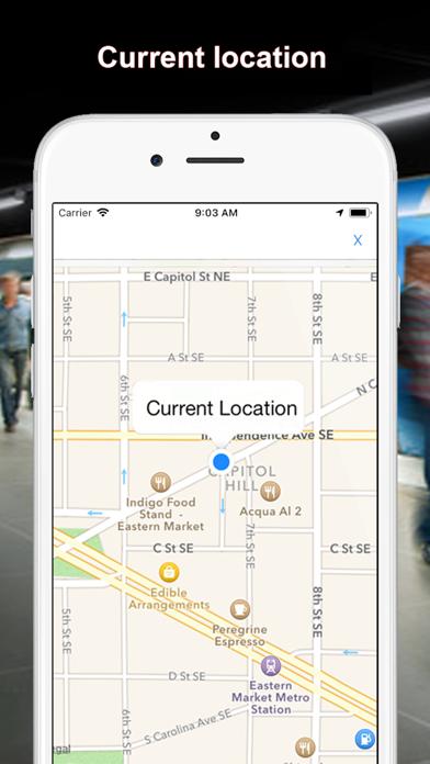 US Metro - Washington, NYC, LA screenshot three