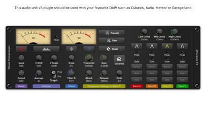 Visual Multi-Band Compressor screenshot 1