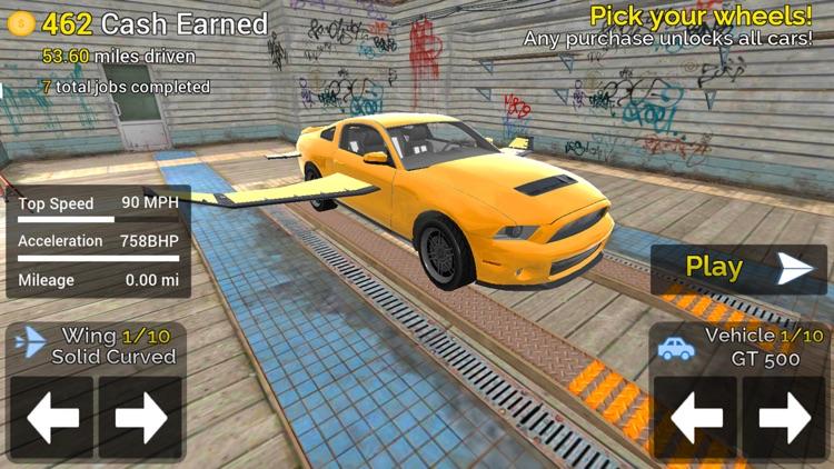 Flying Car Transport Simulator screenshot-6
