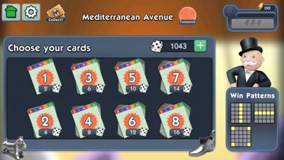 Screenshot of MONOPOLY Bingo!5