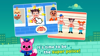 Screenshot for Pinkfong  Cảnh sát in Viet Nam App Store