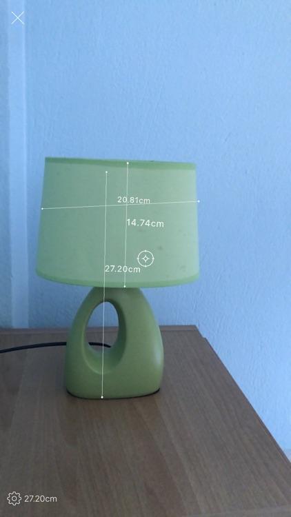 AR tape measure