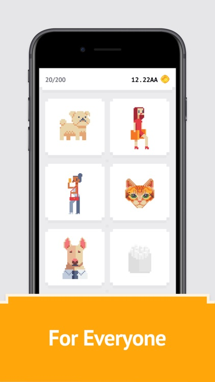 Idle Pixel Art Coloring Book screenshot-4
