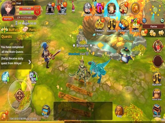 Flyff Legacy - Anime MMORPG on the App Store