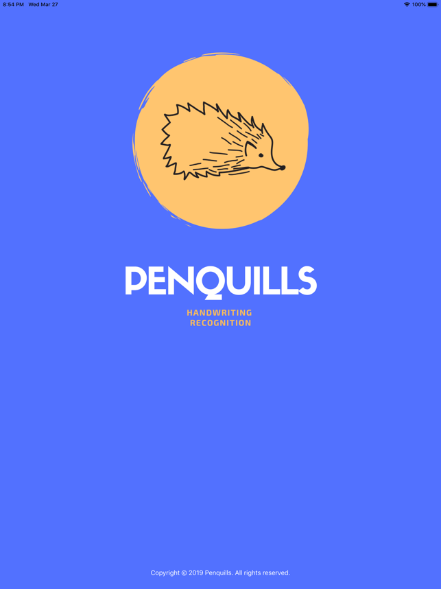 Innovative Penquills iOS App with Handwriting Recognition Now Available Image