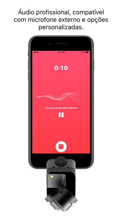 Screenshot for Just Press Record in Portugal App Store