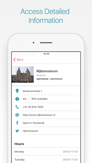 Amsterdam Travel Guide & Map screenshot two