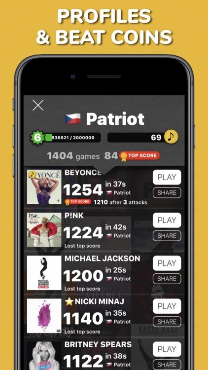Music Match - pair songs quiz screenshot-4