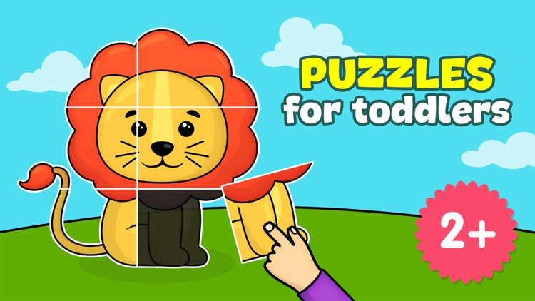 Toddler puzzle games for kids screenshot-0