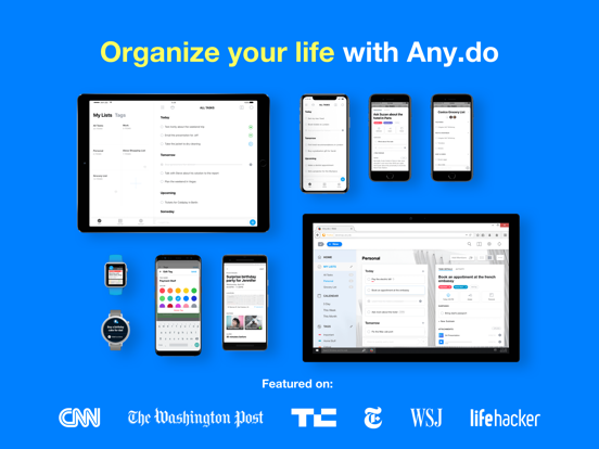 Any.do - To-do List & Task Manager screenshot