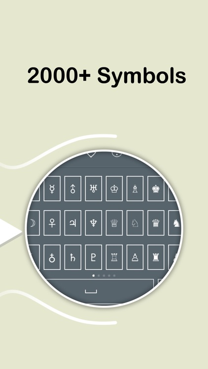 Symbol Keyboard - 2000+ Signs
