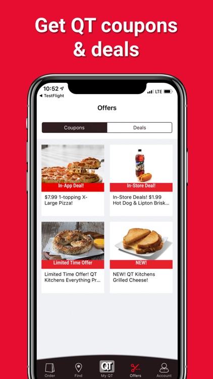 QuikTrip: Coupons, Fuel, Food screenshot-6