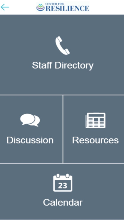 Center for Resilience App screenshot-3