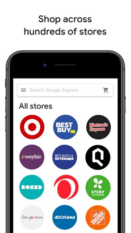 Google Express: one stop shop screenshot-4