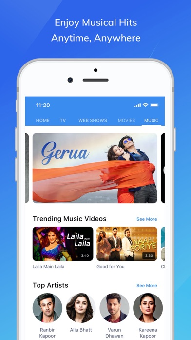 Screenshot for MX Player in India App Store
