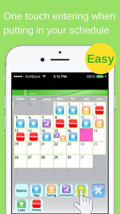 Shift Planning Calendar Pro screenshot-3