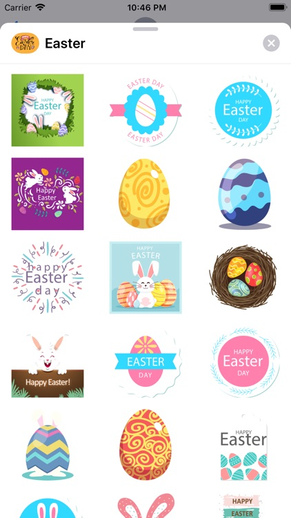 Easter.Stickers