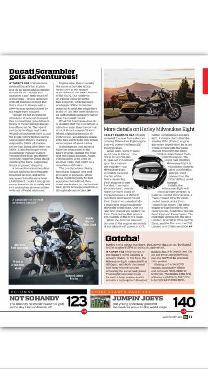 Australian Motorcycle News Mag