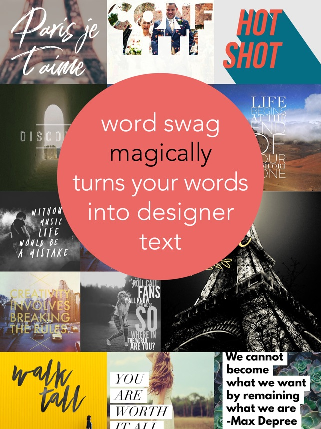 ‎Word Swag - Cool Fonts Screenshot