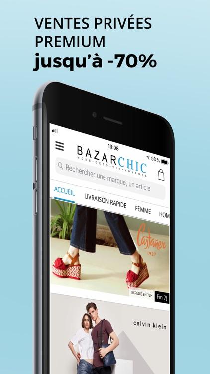 BazarChic, ventes privées mode screenshot-0