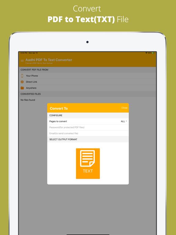 Aadhi PDF to Text Converter screenshot 8