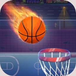 跳跳投篮球-指尖点点