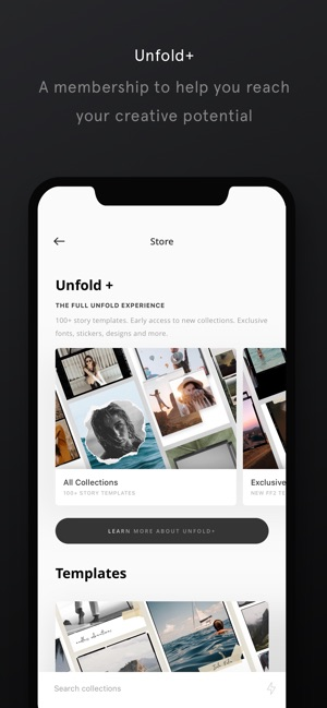Unfold — Create Stories on the App Store