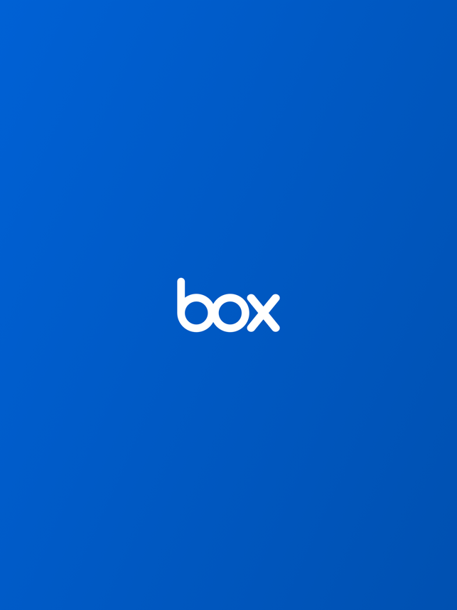 ‎Box — Cloud Content Management Screenshot