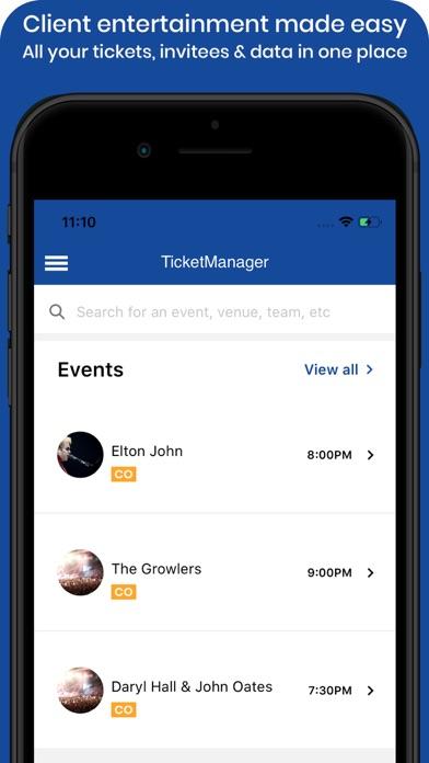 TicketManagerScreenshot of 1