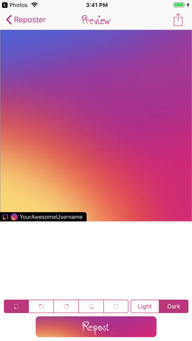 Reposter for Instagram.のおすすめ画像2