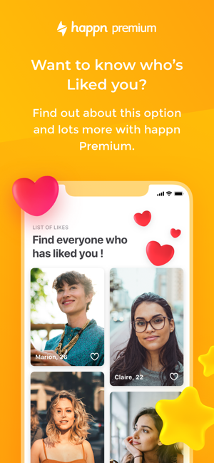 IPhone Instant dating app