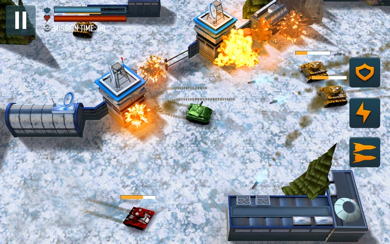 Tank Battle Heroes: PvP Brawls screenshot 3
