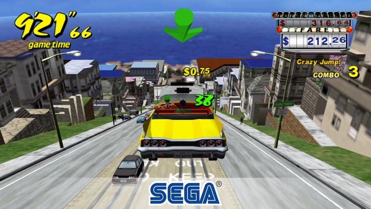 Crazy Taxi Classic screenshot-0