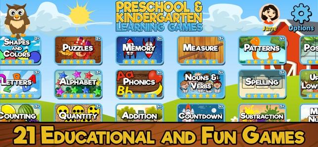 40f7f3160 Preschool & Kindergarten Games on the App Store