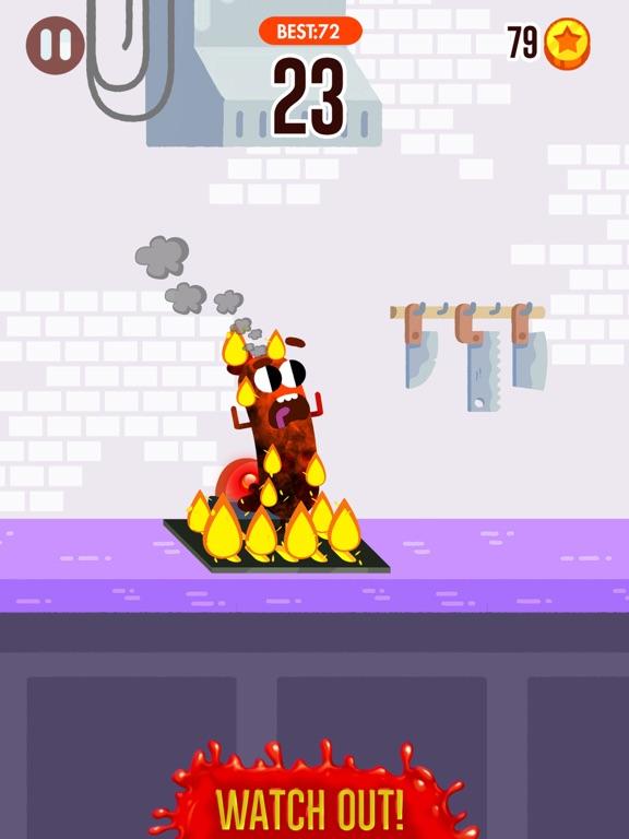 Run Sausage Run! iPad app afbeelding 2