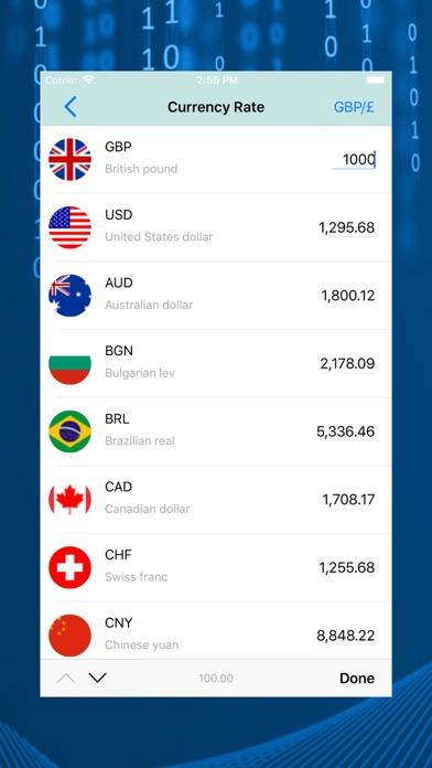 Currency Chart Tracker screenshot 2