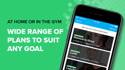 BodyFit Fitness Training Coach Screenshot