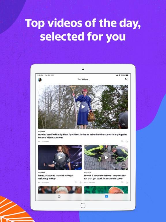 Yahoo - News, Mail, Sports screenshot 9