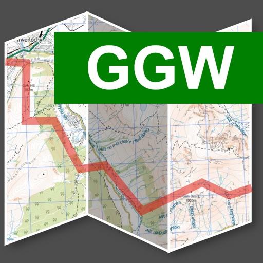 Great Glen Way Map