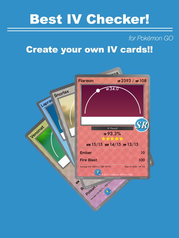 Screenshot #4 pour Auto IV Checker for Pokémon GO