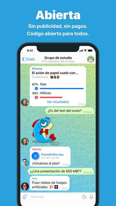 Descargar Telegram Messenger para Android