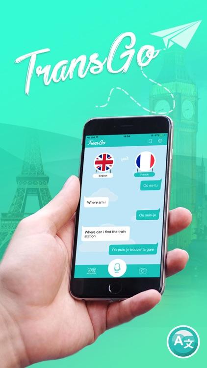 TransGo Voice & Text Translate screenshot-0