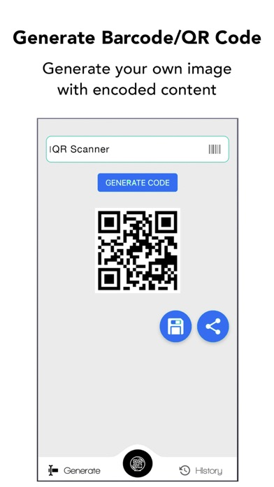 QR Code & Barcode Scanner. Screenshot